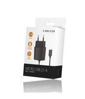 ŁADOWARKA SIECIOWA FOREVER MICRO USB 2,1A CZARNANEW CASE