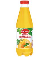 FORTUNA SOK 100% POMARAŃCZA 1L