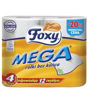 PAPIER TOALETOWY FOXY MEGA 4 ROLKI