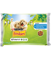FRISKIES JUNIOR KURCZAK MAR 4X100G