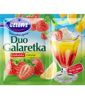 GELLWE DUO GALARETKA SMAK TRUSKAWKA CYTRYNA 75 G (50 G + 25 G)
