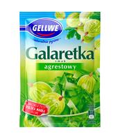 GELLWE GALARETKA SMAK AGRESTOWY 72G