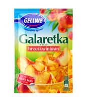 GELLWE GALARETKA SMAK BRZOSKWINIOWY 72G