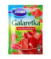 GELLWE GALARETKA SMAK TRUSKAWKOWY 72G