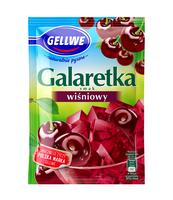 GELLWE GALARETKA SMAK WIŚNIOWY 72G