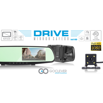 LUSTERKO GOCLEVER DRIVE MIRROR SAFEGO