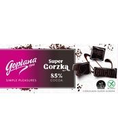 GOPLANA CZEKOLADA SUPER GORZKA 85% COCOA 90G
