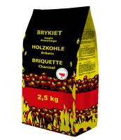 BRYKIET DRZEWNY PREMIUM GRILL&PARTY 2,5 KG
