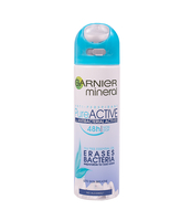 GARNIER MINERAL PURE ACTIVE ANTYPERSPIRANT W SPRAYU 150ML