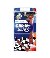 GILLETTE BLUE3 MASZYNKA DO GOLENIA DLA MĘŻCZYZN 6SZT