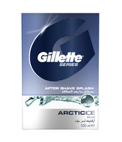 GILLETTE SERIES AFTER SHAVE ARCTIC ICE SPLASH PŁYN PO GOLENIU 100 ML