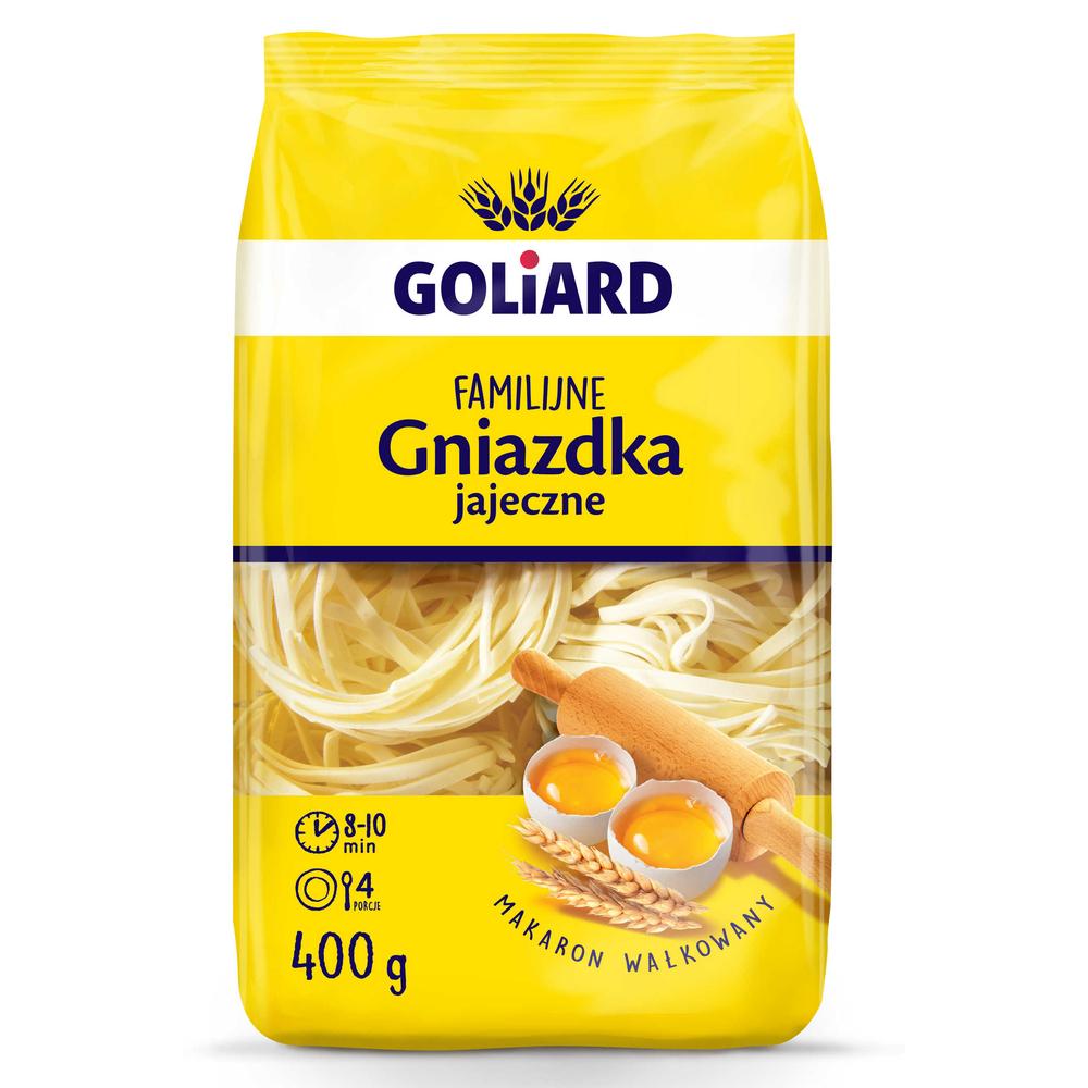 GOLIARD MAKARON FAMILIJNY GNIAZDKA 400 G