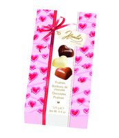 HAMLET PRALINY BELGIJSKIE LOVE HEARTS BOX 125G