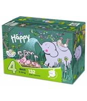 PIELUSZKI HIGIENICZNE DLA DZIECI BELLA BABY HAPPY ROZMIAR MAXI '4' 8-18KG BOX 132SZT.