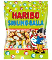 ŻELKI OWOCOWE HARIBO SMILING BALLA 100G