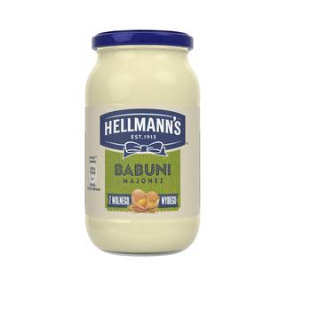 HELLMANN'S MAJONEZ BABUNI 405ML