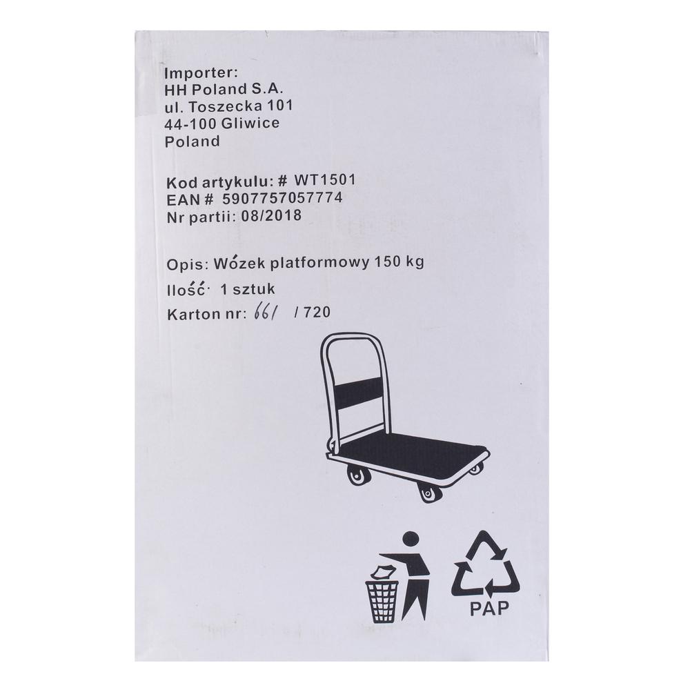 WÓZEK PLATFORMOWY 150 KG WT1501