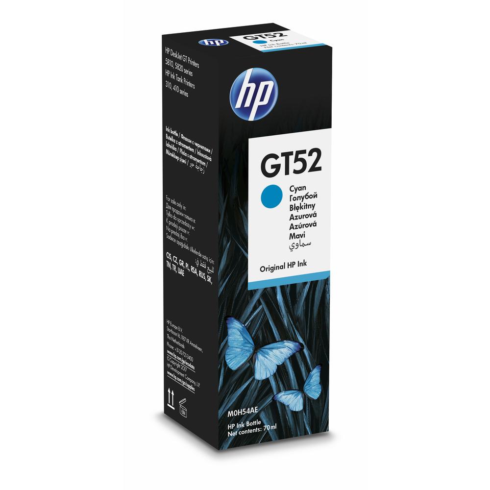 TUSZ HP GT52 M0H54AE BŁĘKITNY