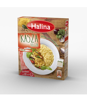 HALINA KASZA BULGUR 2X100G KARTONIK