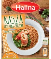 HALINA KASZA GRYCZANA 4X100G KARTONIK