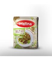 HALINA SOCZEWICA ZIELONA 500G FOLIA