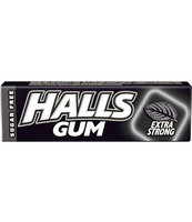 HALLS GUM EXTRA STRONG STICKS 14G