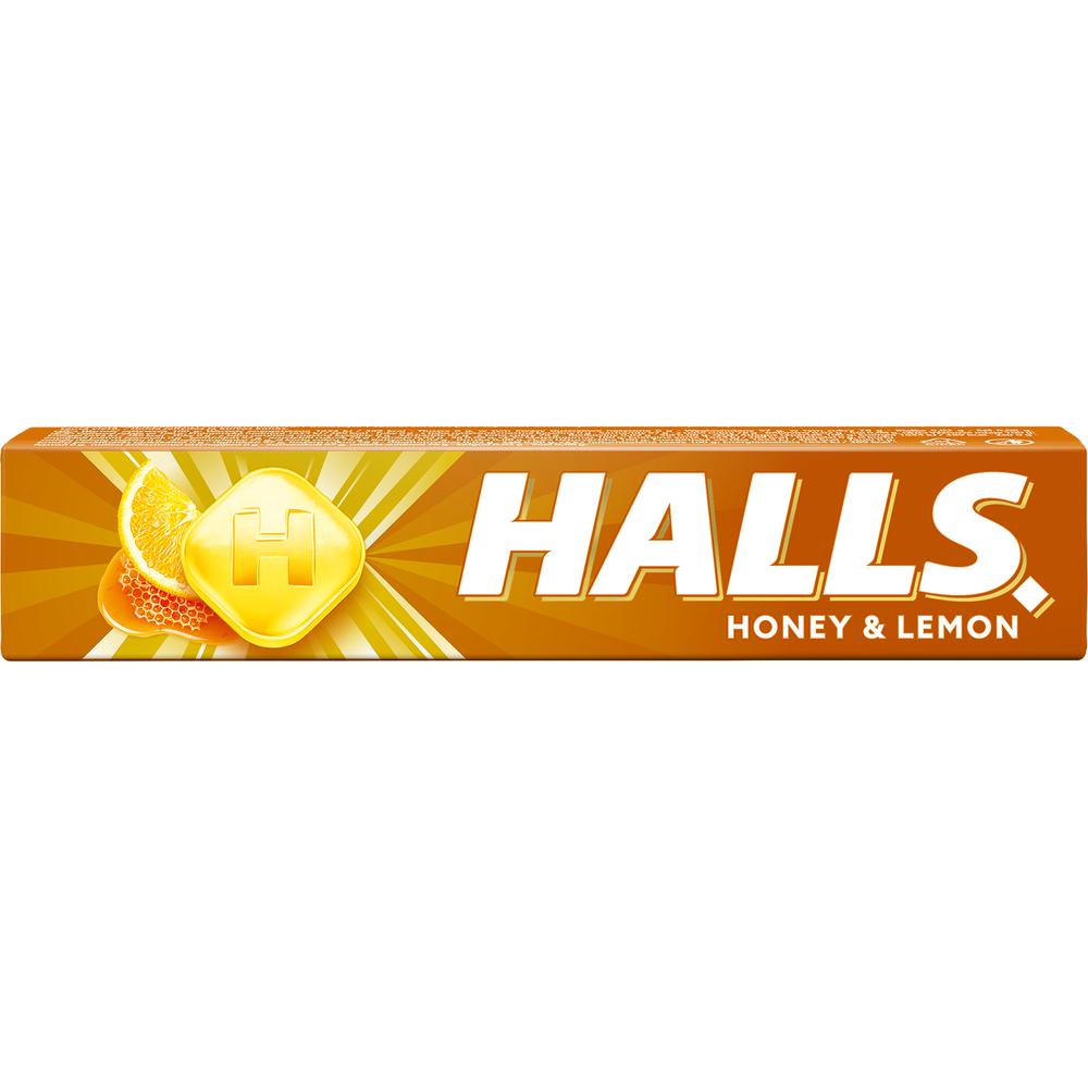 HALLS HONEY & LEMON 33.5G