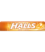 HALLS HONEY & LEMON 33.5G