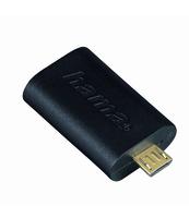 ADAPTER USB HAMA MICRO B WT. - USB A GN.