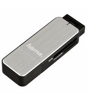 CZYTNIK KART PAMIĘCI SD/MICROSD HAMA USB 3.0 SREBRNY