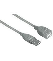 KABEL PRZEDŁUŻAJĄCY USB HAMA WTYK A – GNIAZDO A 1,8M