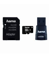 KARTA PAMIĘCI MICROSDHC HAMA 16GB C10 UHS-I SET
