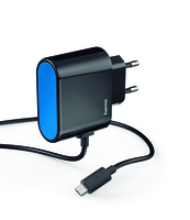 ŁADOWARKA SIECIOWA HAMA MICRO USB 230V 2,4A