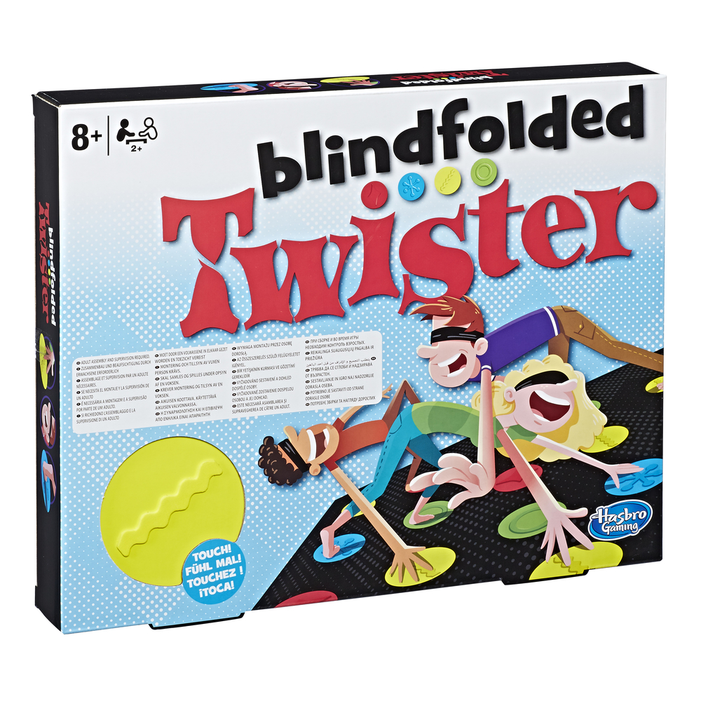 TWISTER BLINDFOLDED