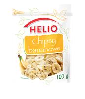CHIPSY BANANOWE 100 G HELIO