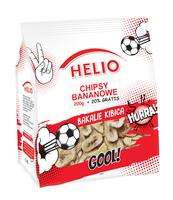 CHIPSY BANANOWE 200 G + 20 % GRATIS HELIO