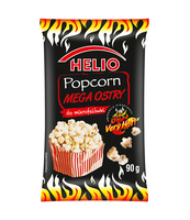 POPCORN DO MIKROFALÓWKI MEGA OSTRY 90 G HELIO