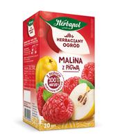HERBACIANY OGRÓD HERBATKA OWOCOWA MALINA Z PIGWĄ 20TB/54G
