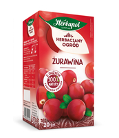 HERBACIANY OGRÓD HERBATKA OWOCOWA ŻURAWINA 20TB/50G