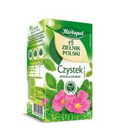 ZIELNIK POLSKI CZYSTEK - SUPLEMENT DIETY 20TB 2,0G