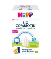 MLEKO POCZĄTKOWE HIPP 1 BIO COMBIOTIK 550G