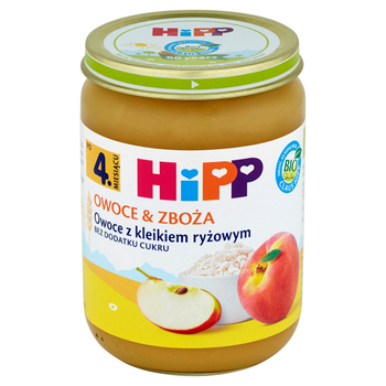 OWOCE Z KLEIKIEM RYŻOWYM HIPP BIO 190G