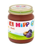 ŚLIWKI HIPP BIO PO 4. M-CU, 125 G
