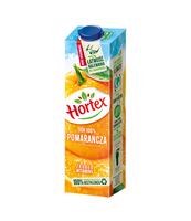 HORTEX POMARAŃCZA SOK 100% KARTON 1L
