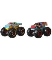 HOT WHEELS MONSTER TRUCKS POJAZD 1:64 2-PAK AST.