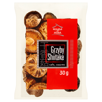 HOUSE OF ASIA GRZYBY SHIITAKE 30G