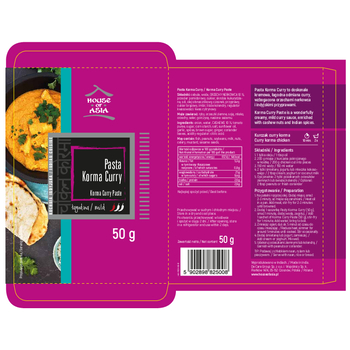 HOUSE OF ASIA PASTA CHICKEN KORMA CURRY 50 G