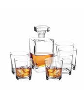 ZESTAW DO WHISKY KARAFKA 0,75L + 6 SZKLANEK 280ML ASTON