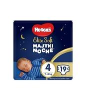 HUGGIES 19 SZT ELITE SOFT OVERNIGHTS PANTS 4 (9-14 KG) PIELUCHOMAJTKI