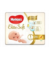 HUGGIES 26 SZT GOLDFINGER NEWBORN 1 (2-5 KG) PIELUCHY